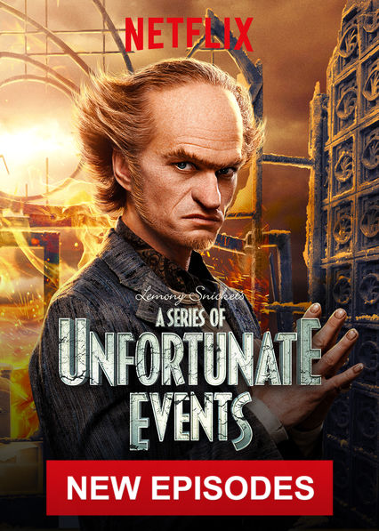 A Series of Unfortunate Events on Netflix AUS/NZ