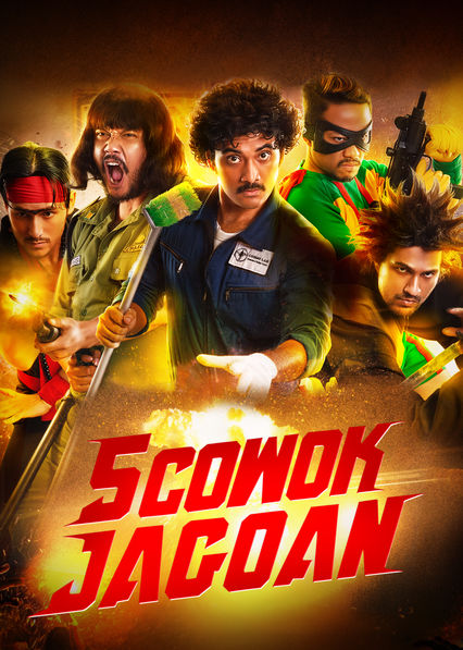 5 Cowok Jagoan on Netflix AUS/NZ