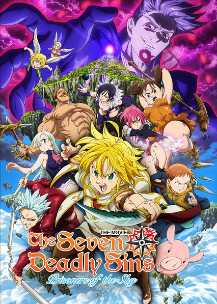 The Seven Deadly Sins the Movie: Prisoners of the Sky on Netflix AUS/NZ