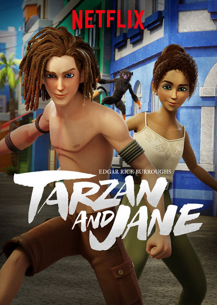 Edgar Rice Burroughs' Tarzan and Jane on Netflix AUS/NZ