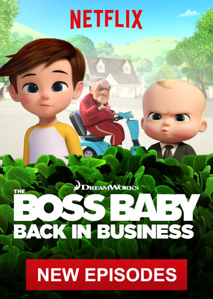 The Boss Baby: Back in Business on Netflix AUS/NZ